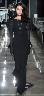 модное черно сваденое платье Черное свадебное платье Reem Acra 2018