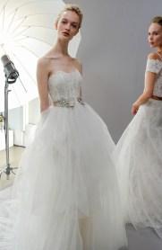 свадебное платье с поясом пышное 2018Amsale