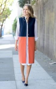 модный тренд 2017 платье-рубашка как носить