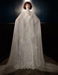 свадебное платье с кейпом Galia Lahav Bridal 2018
