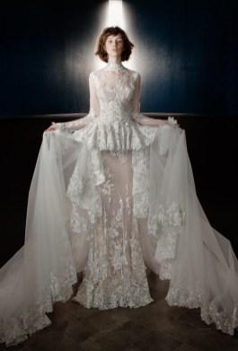 модное свадебное платье с двойной юбкой Galia Lahav Bridal 2018