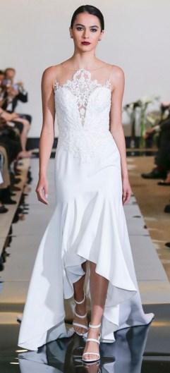 короткое сваденое платье Justin Alexander bridal 2018