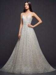 блестящее свадебное платье 2018 Lazaro