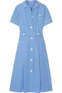 модное платье-рубашка