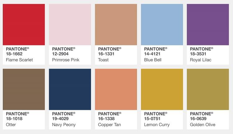 pantone color report fall 2017 london