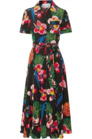тренд 2017 платье рубашка Валентино