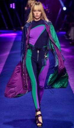 тренд 2017 года Versace SS 2017 Athleisure