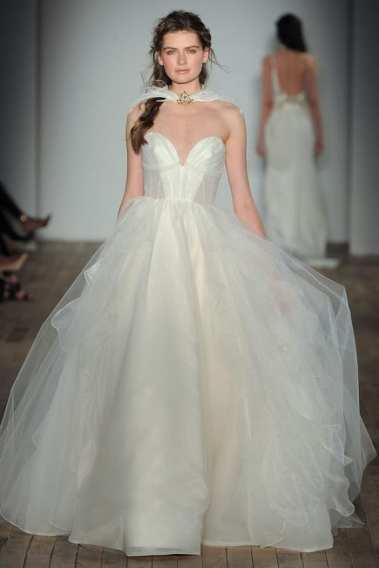 модные свадебные платья тенденции 2018 Hayley Paige