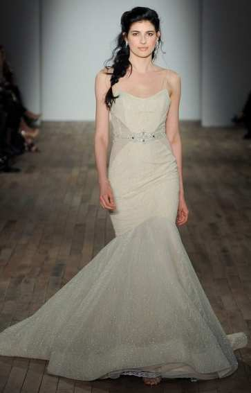 модные свадебные платья тенденции 2018 Lazaro