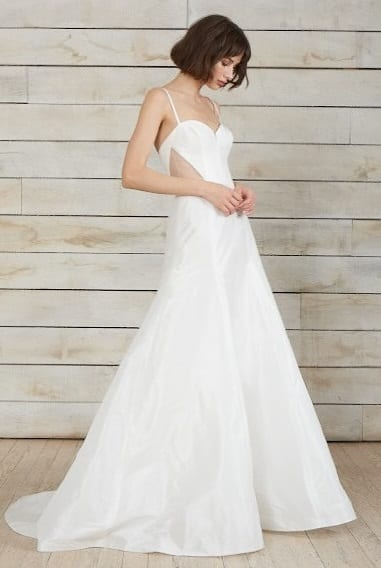 модные свадебные платья тенденции 2018 Nouvelle Amsale