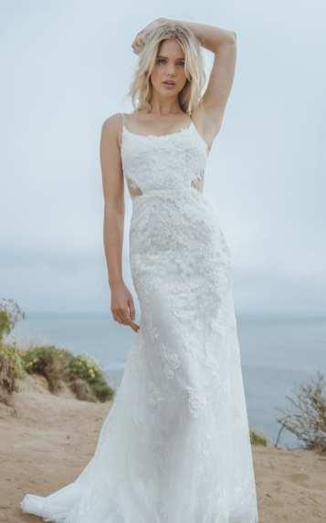 Sabrina Dahan модные свадебные платья тенденции 2018