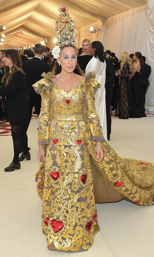 Met Gala Sarah Jessica Parker in Dolce & Gabbana