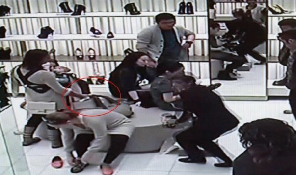 воровки и кражи в Милане бутики
