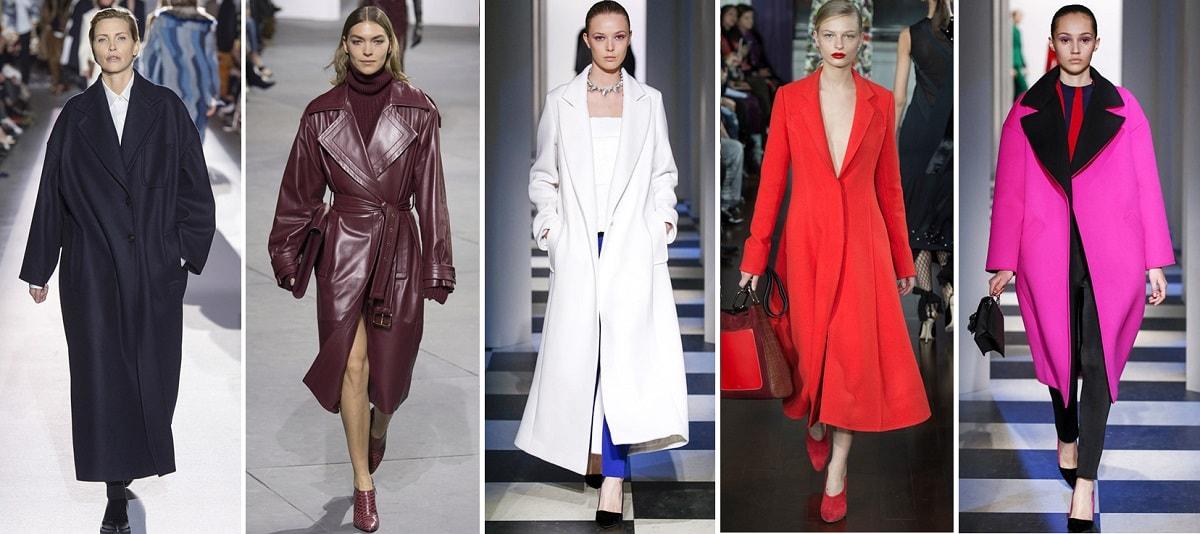 Самые модные пальто осень зима 2017: где купить и как носить