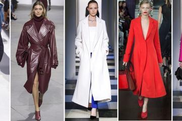 самые модные пальто осень 2017