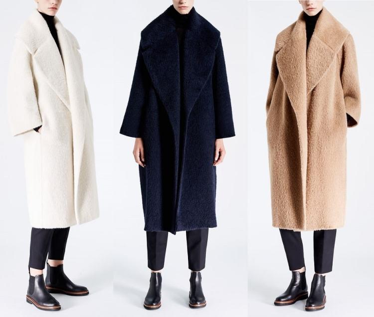 итальянские пальто Макс Мара альпака шерсть