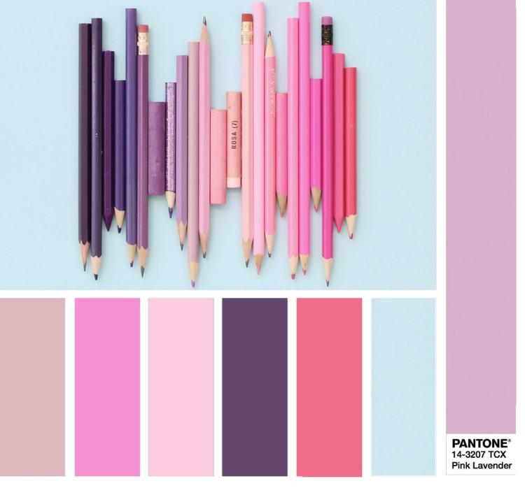 PANTONE 14-3207 Pink Lavender - Розовая лаванда