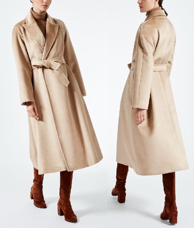 ba75d1e4368 Коллекция пальто Max Mara осень–зима 2017 18. Фото и цены -