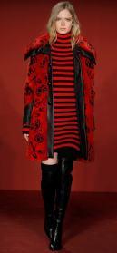 модная итальянская шуба из норки Браски в Милане