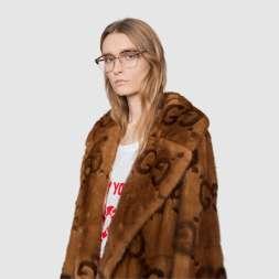 Gucci норковая шуба 2018 2017
