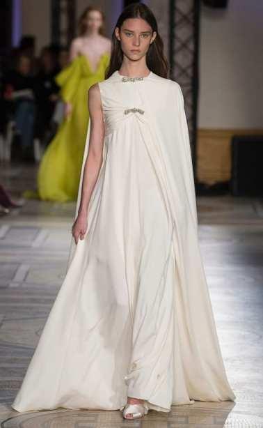 оригинальное сваденое платье в греческом стиле высокая мода 2018