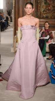 розовое свадебное платье из тафты Валентино