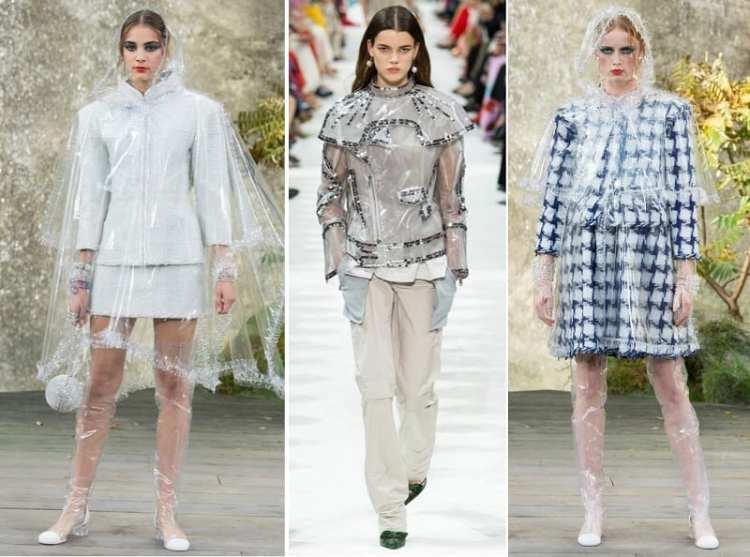 fashion trend spring 2018 Plastic