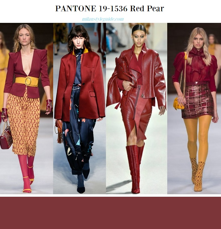 Самые модные цвета осень-зима 2018 — PANTONE Fashion Color Trend ... 3967a9f643f