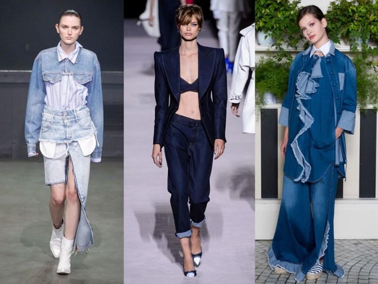 trend главные тренды весны 2018 джинсы