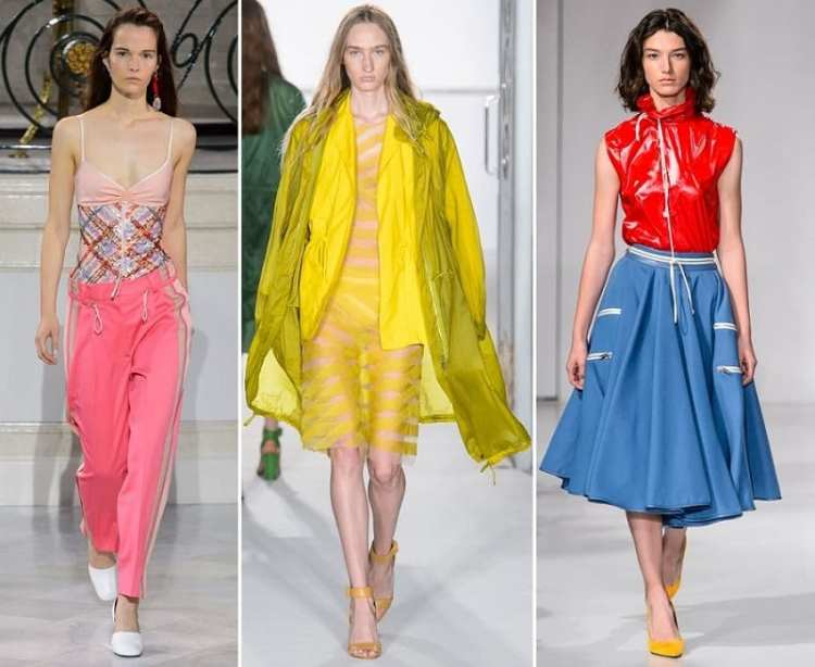 glamleisure тренд мода весна лето 2018