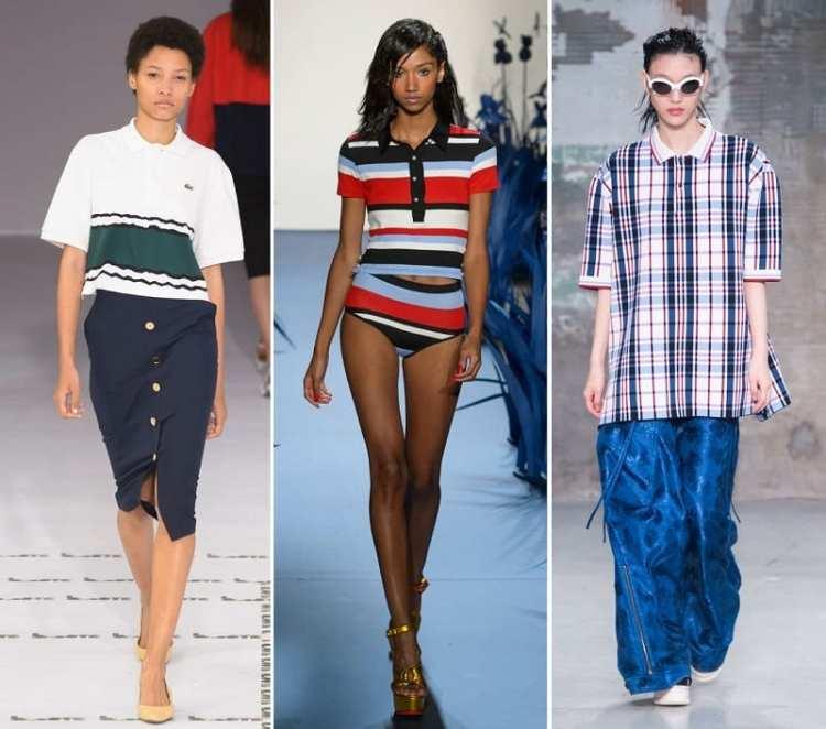 fashion trend spring 2018 polo