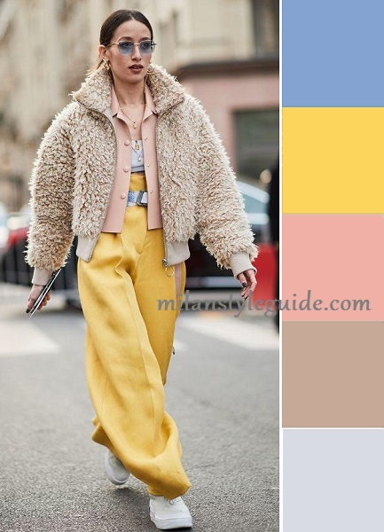 Blooming Dahlia fashion trend color