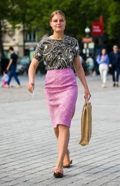 стрит стайл весна лето 2018 какак модно носить юбку карандаш