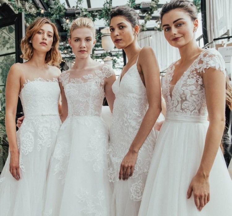 Модные свадебные платья в Милане
