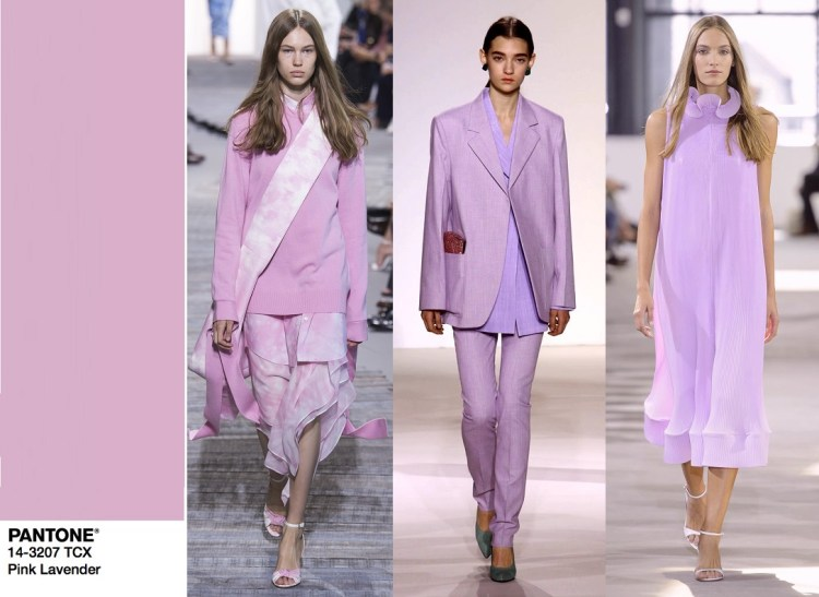 цвет весны 2018 розовая лаванда SS18 05 PANTONE 14-3207 Pink Lavender