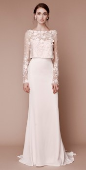 модные свадебные платья 2019 тенденция crop top