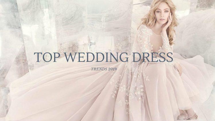 TRENDS 2019 wedding dress модные свадебные платья главные модные тенденции