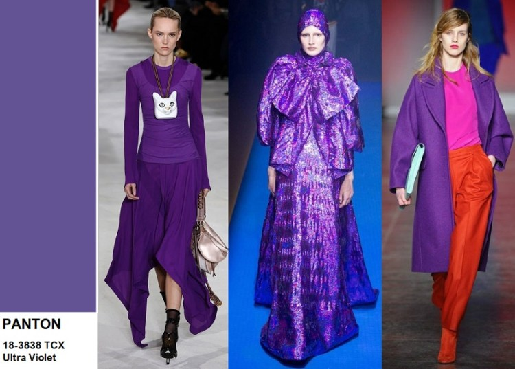 Ultra Violet color trend 2018