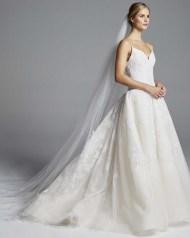 anne barge свадебные платья 2019 модные тенденции - красивое пышное свадебное платье