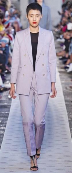 двубортный блейзер мода весна лето 2018