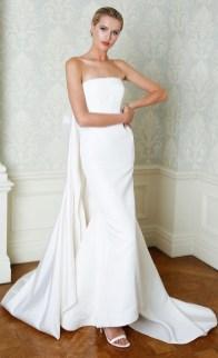 свадебные платья 2019 - тенденция простота и минимализм