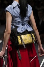 Prada fashion Spring 2018 trend bag