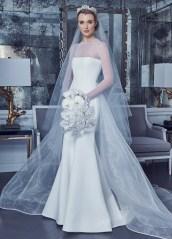 свадебные платья 2019 модные тенденции - красивое рыбка свадебное платье romona keveza