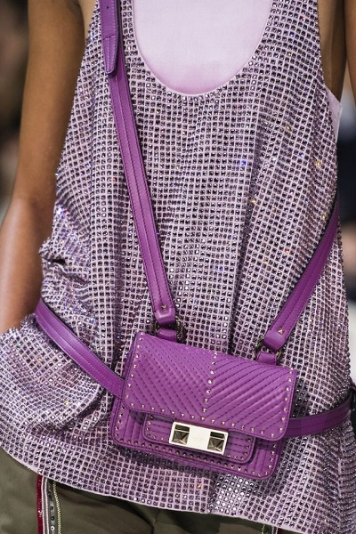 valentinofashion Spring 2018 trend bag
