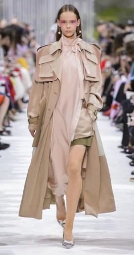 тренч valentino мода весна лето 2018
