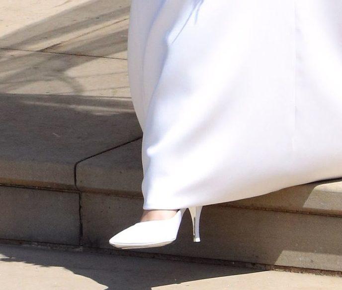 Meghan Markle Wedding Shoes - свадебные туфли Меган Маркл