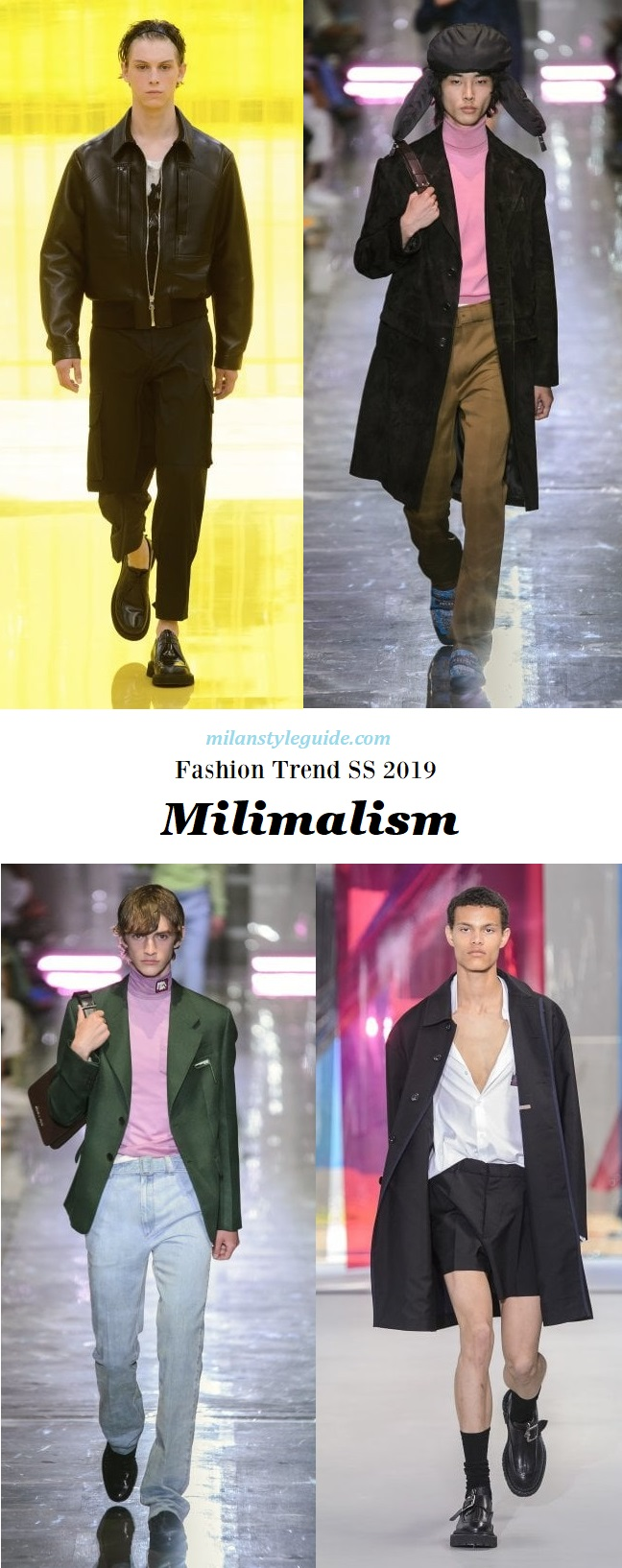модная тенденции 2019 Minimalism
