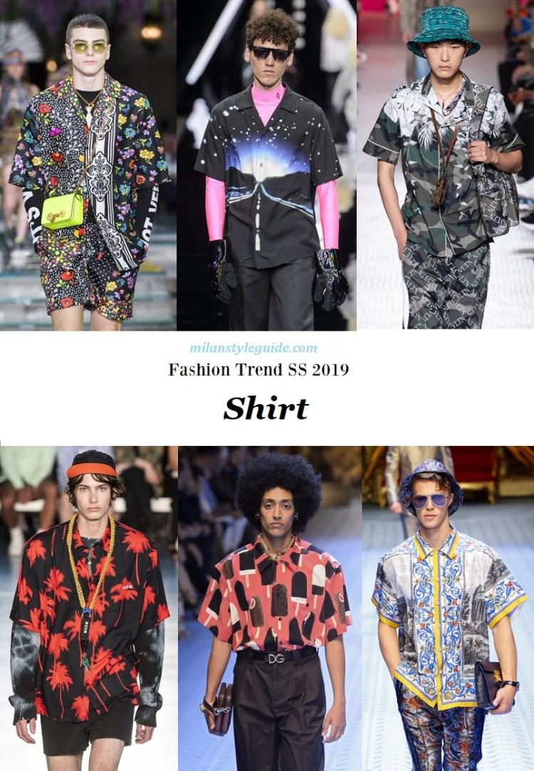 модная тенденции 2019 Fashion trend men 2019 Shirt