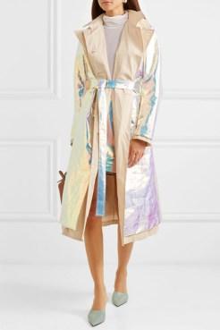 модные футуристические пальто мода осень 2018