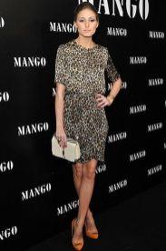 как носить модное леопардовое платье Оливия палермо